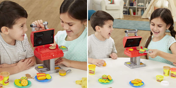 Play-Doh Kitchen Creations Grill 'n Stamp Barbacoa chollo en Amazon