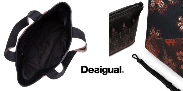Desigual 21SAXA93 Shopping Bag Indonesio chollo en Amazon