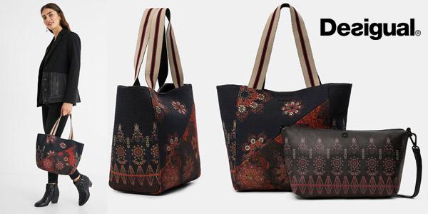 Desigual 21SAXA93 Shopping Bag Indonesio barato en Amazon