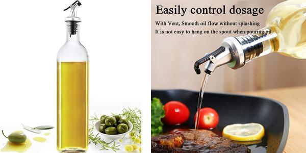 Botella dosificadora para aceite o vinagre de 500 ml barata en Amazon