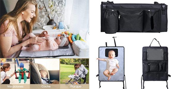 Cambiador portátil 3-en-1 Lictin para bebé barato en Amazon