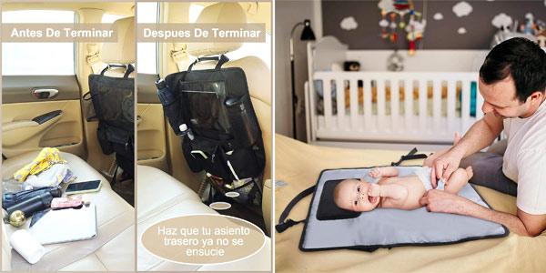 Cambiador portátil 3-en-1 Lictin para bebé oferta en Amazon