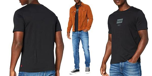 Camiseta de manga corta Levi's Sportswear Logo Graphic para hombre barata en Amazon