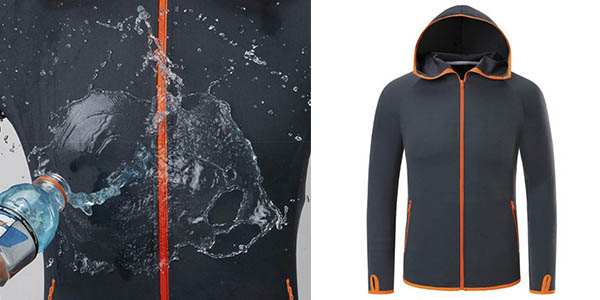 chaqueta cortaviendos hidrofóbica relación calidad-precio