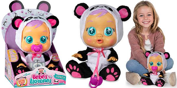 Chollo Muñeca interactiva Pandy de Bebés Llorones