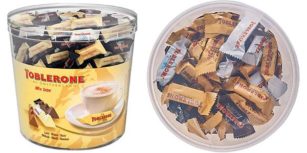 Chollo Caja surtida de barritas de chocolate Toblerone de 900 g