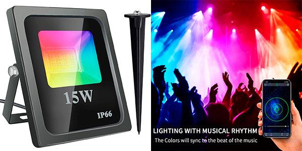 Chollo Foco LED RGB Shopled de 15 W