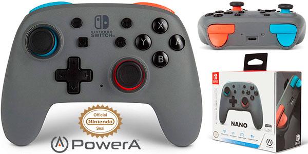 Chollo Mando inalámbrico PowerA Nano para Switch