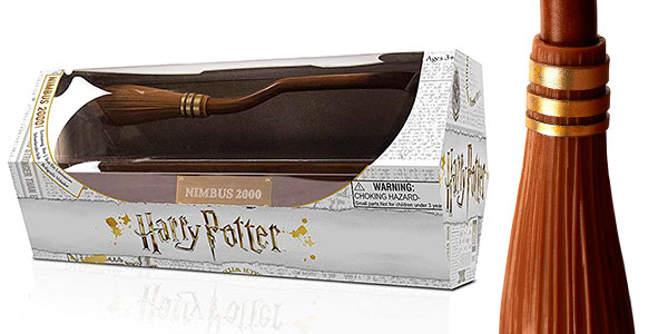 Escoba voladora Nimbus 2000 de Harry Potter rebajada