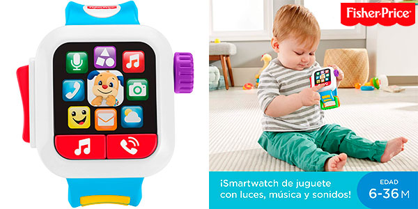 Chollo Smartwatch Fisher-Price Hora de Aprender
