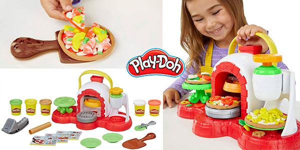 Chollo Horno de pizzas Play-Doh con 5 botes de plastilina