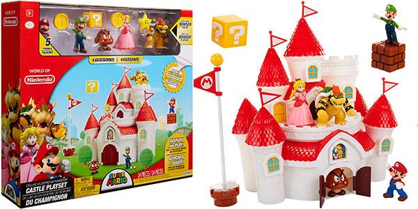 Chollo Set Castillo de la Princesa Peach con 5 figuras