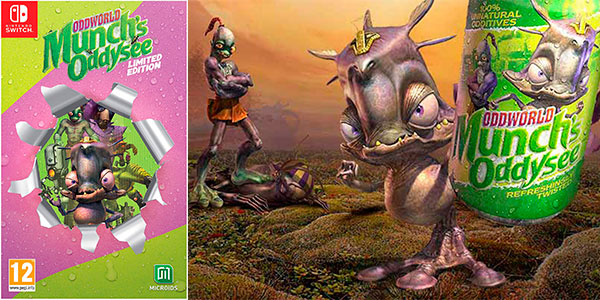 Chollo Oddworld Munch's Oddysee Limited Edition para Switch
