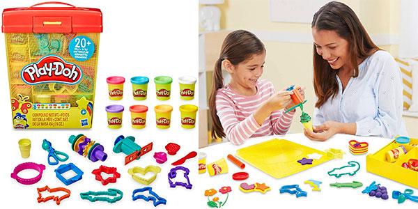 Chollo Super Maletín Play-Doh con plastilina y herramientas