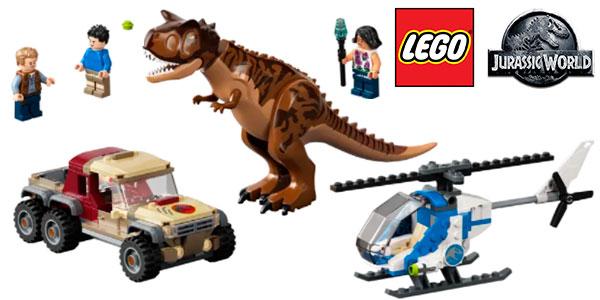 Chollo Set Persecución del Dinosaurio Carnotaurus de LEGO Jurassic World
