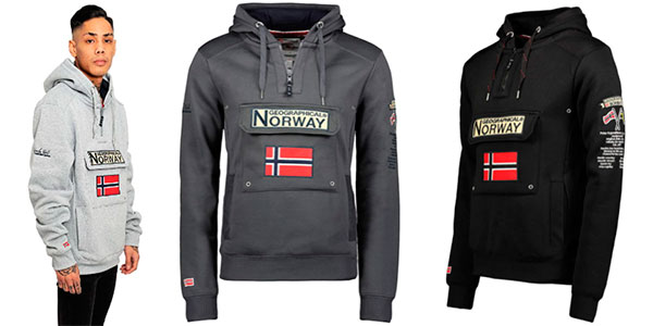 Chollo Sudadera Geographical Norway Gymclass para hombre