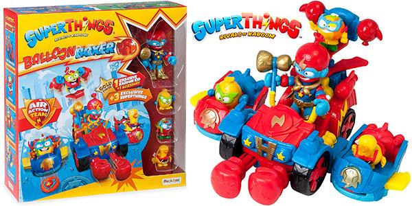 Chollo Balloon Boxer de Superthings con 4 figuras