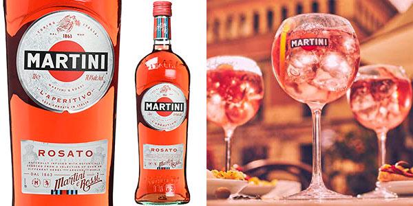 Chollo Vermut Martini Rosato de 1.000 ml