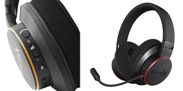 Creative Sound BlasterX H6 cascos micrófono chollo