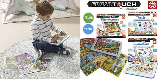 Educatouch Junior Érase una vez juego táctil barato