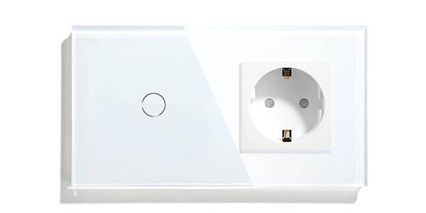 Interruptor WiFi + enchufe de pared BSEED barato