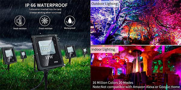 Foco LED RGB Shopled de 15 W barato