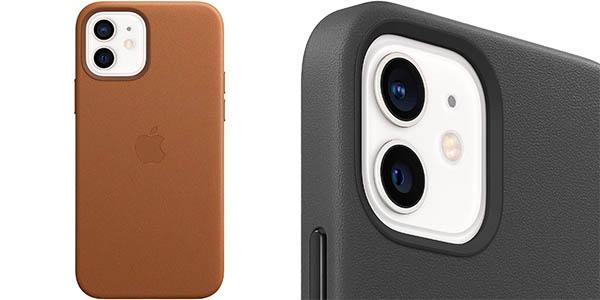 Funda de piel Apple con MagSafe