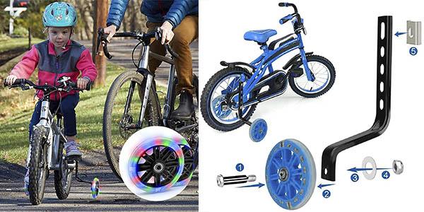 Gzwy ruedas estabilizadoras universales bicicleta chollo