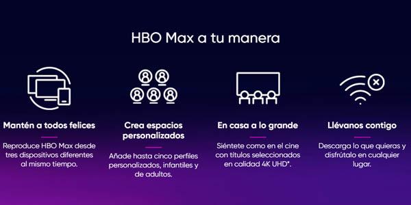 Características HBO Max