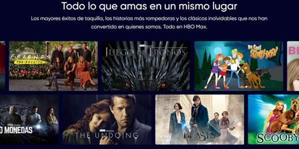 Películas y series de HBO Max