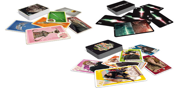 Juego de cartas tripack Harry Potter Cartamundi chollo en Amazon