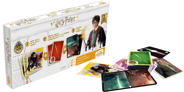 Juego de cartas tripack Harry Potter Cartamundi barato en Amazon