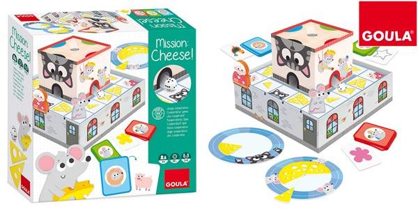 Juego preescolar cooperativo Goula Mission: Cheese! a partir de 4 años barato en Amazon