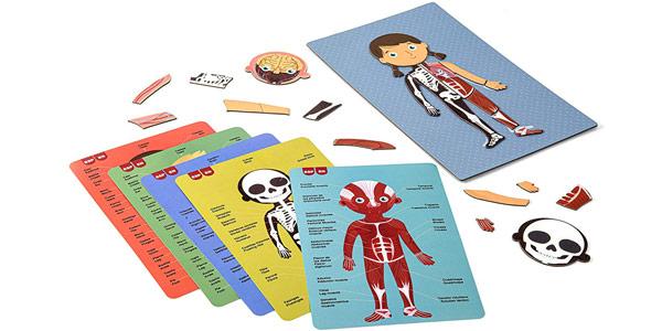 Juego magnético educativo APLI Kids sobre el cuerpo humano chollo en Amazon