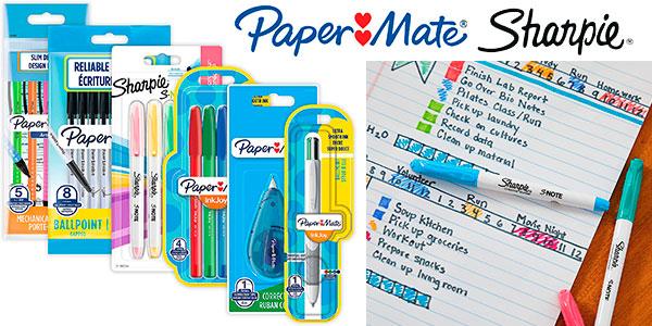 Chollo Juego Paper Mate & Sharpie de bolígrafos, rotuladores, resaltadores y portaminas