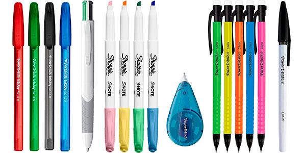 Juego Paper Mate & Sharpie de bolígrafos, rotuladores, resaltadores y portaminas barato