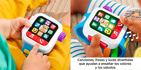 Smartwatch Fisher-Price Hora de Aprender barato