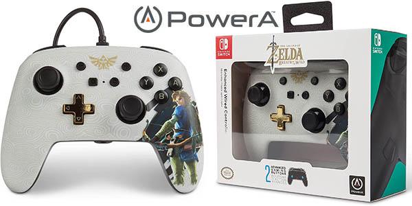 Mando con cable PowerA Link para Nintendo Switch