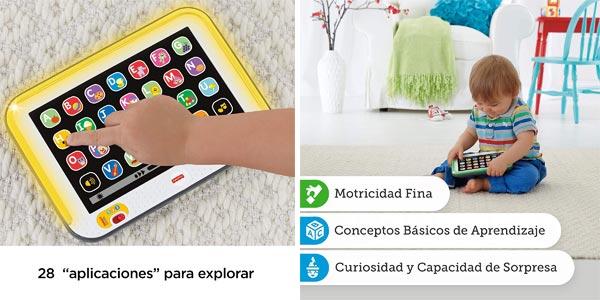 Mi primera Tablet de Fisher-Price (Mattel CDG61) oferta en Amazon