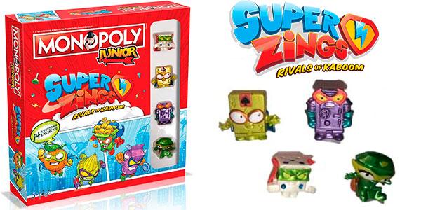 Monopoly Junior de Super Zings barato
