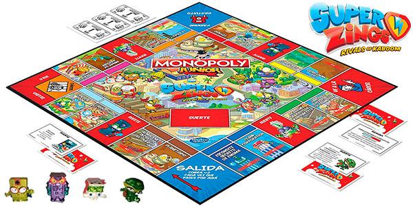 Chollo Monopoly Junior de Super Zings