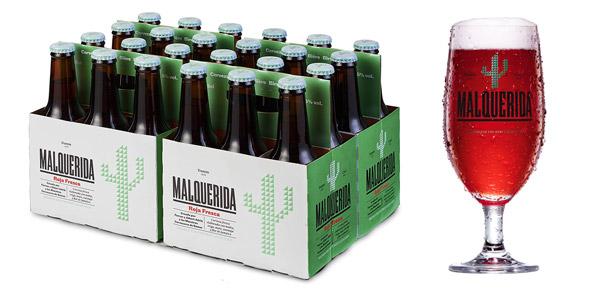 Pack x24 Damm Malquerida Cerveza Roja Fresca de 250 ml barato en Amazon