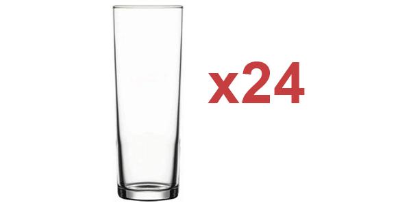 Pack x24 Pasabache vasos de tubo de 320 ml baratos en Amazon