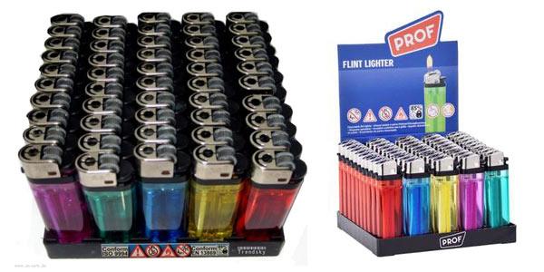 Pack x50 Mecheros desechables de gas chollo en AliExpress Plaza
