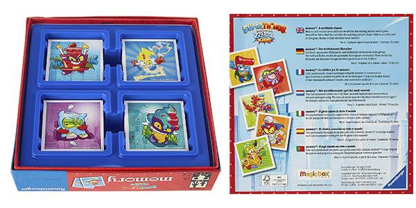 Ranvensburger Memory Superthings juego memoria oferta