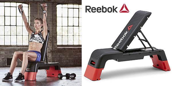 Reebock Deck banco ejercicios chollo