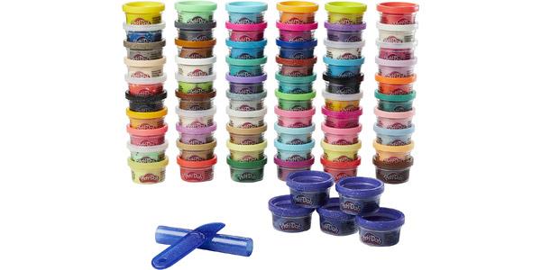 Set x65 botes de plastilina Play-Doh 65 Celebration (Hasbro F15285L1) chollo en Amazon