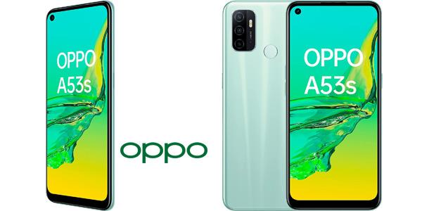 "Smartphone Oppo A53S 4Gb + 128Gb con pantalla LCD de 6,5"", triple cámara 13 + 2 +2 Mp barato en Amazon"