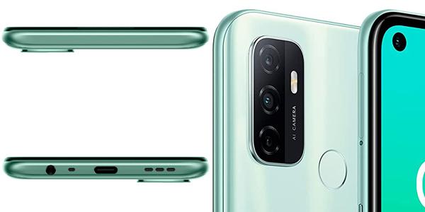 "Smartphone Oppo A53S 4Gb + 128Gb con pantalla LCD de 6,5"", triple cámara 13 + 2 +2 Mp chollo en Amazon"