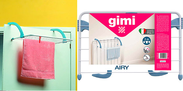 Tendedero de radiador Gimi Airy barato